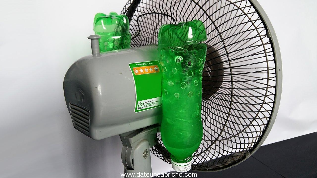 como hacer aire acondicionado casero muy simple