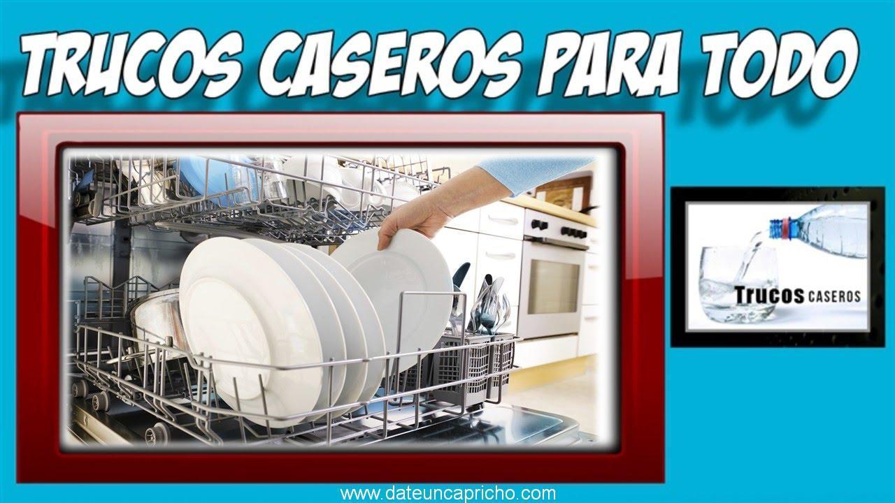 Como limpiar el lavavajillas por dentro con productos - Como limpiar un lavavajillas ...