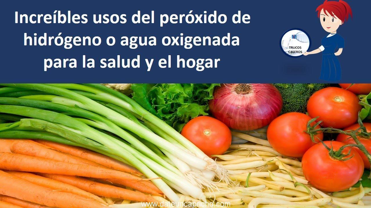 Increibles usos del peroxido de hidrogeno o agua oxigenada for Cocina con hidrogeno