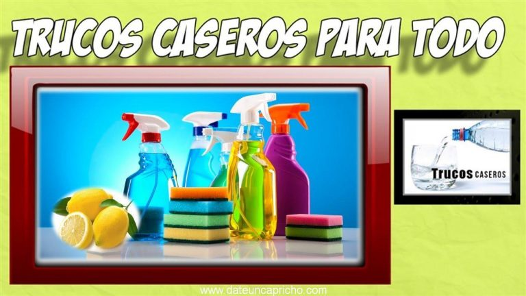 Limpiadores caseros naturales para el hogar – Trucos caseros limpieza hogar