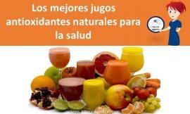 Los mejores jugos antioxidantes naturales para la salud