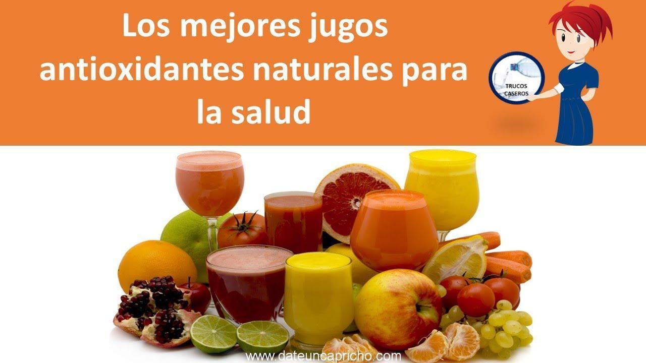 Photo of Los mejores jugos antioxidantes naturales para la salud