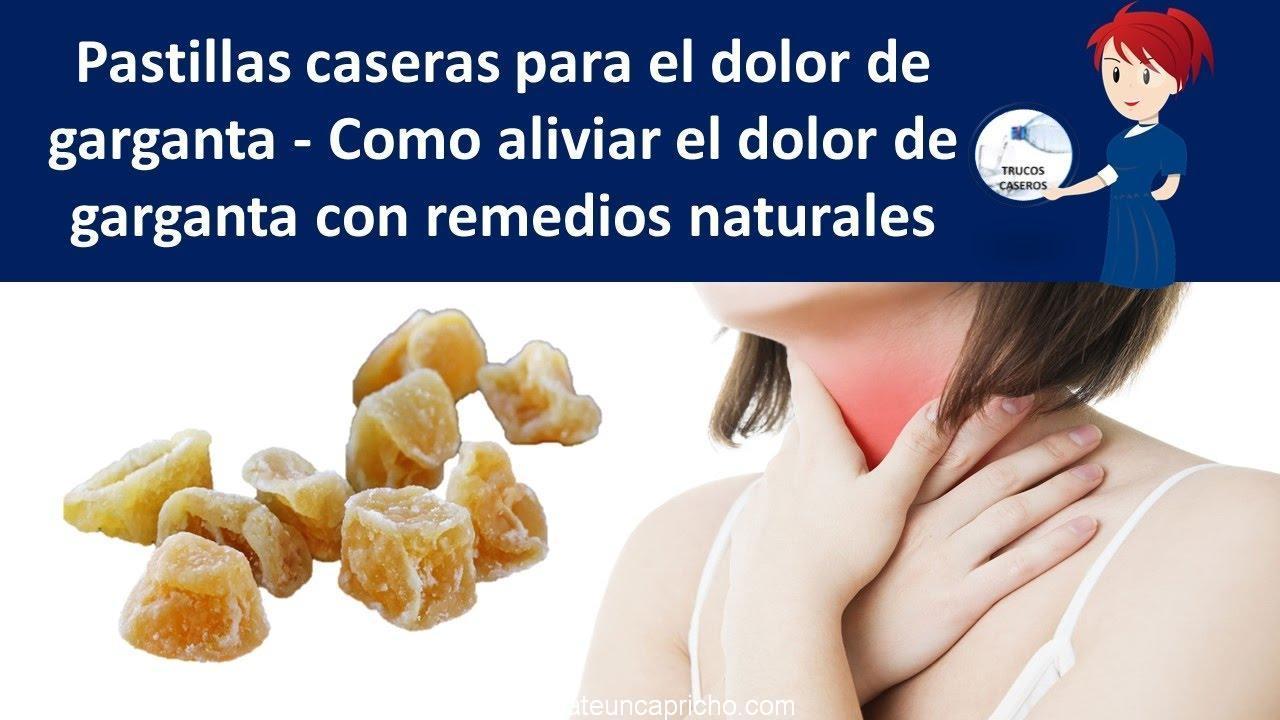Photo of Pastillas caseras para el dolor de garganta naturales