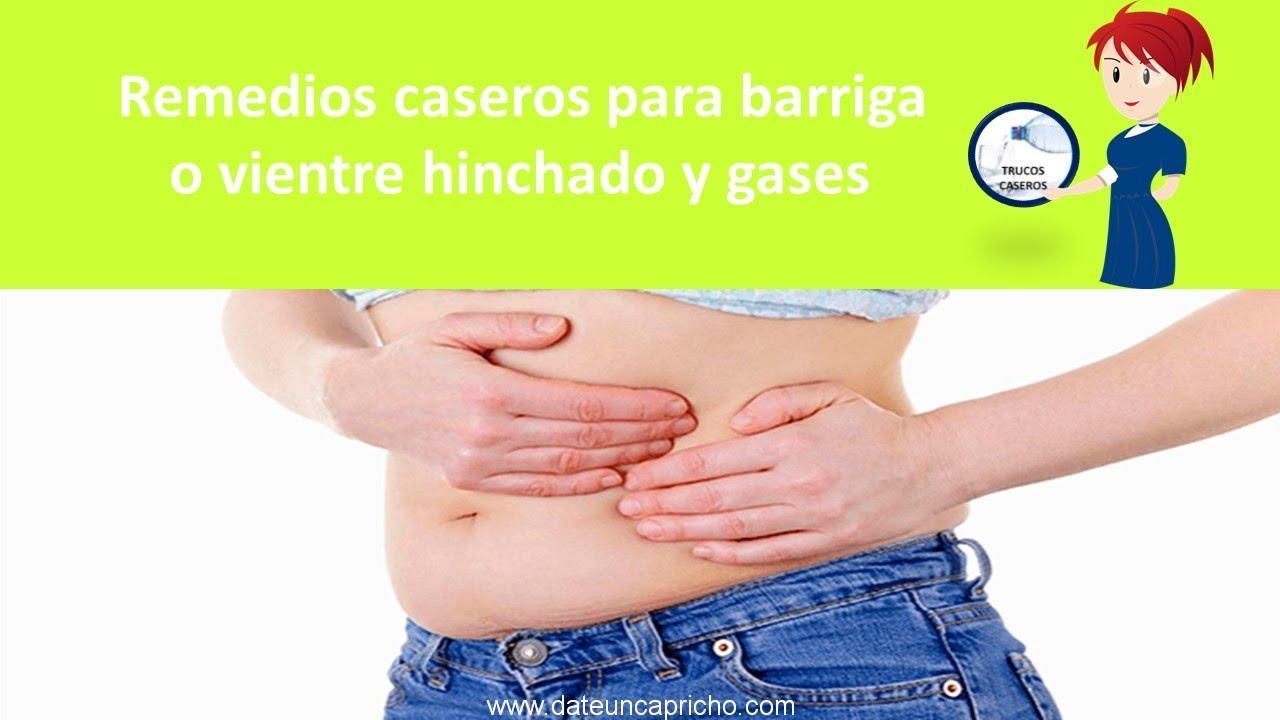 Remedios caseros para barriga o vientre hinchado y gases