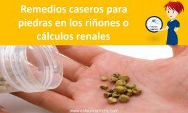 Remedios caseros para las piedras en los riñones o calculos renales