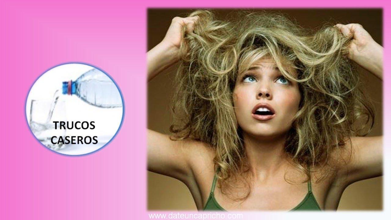 Trucos caseros con productos naturales para el pelo seco – Remedios caseros.