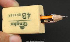6 Trucos con borrador que te facilitaran la vida
