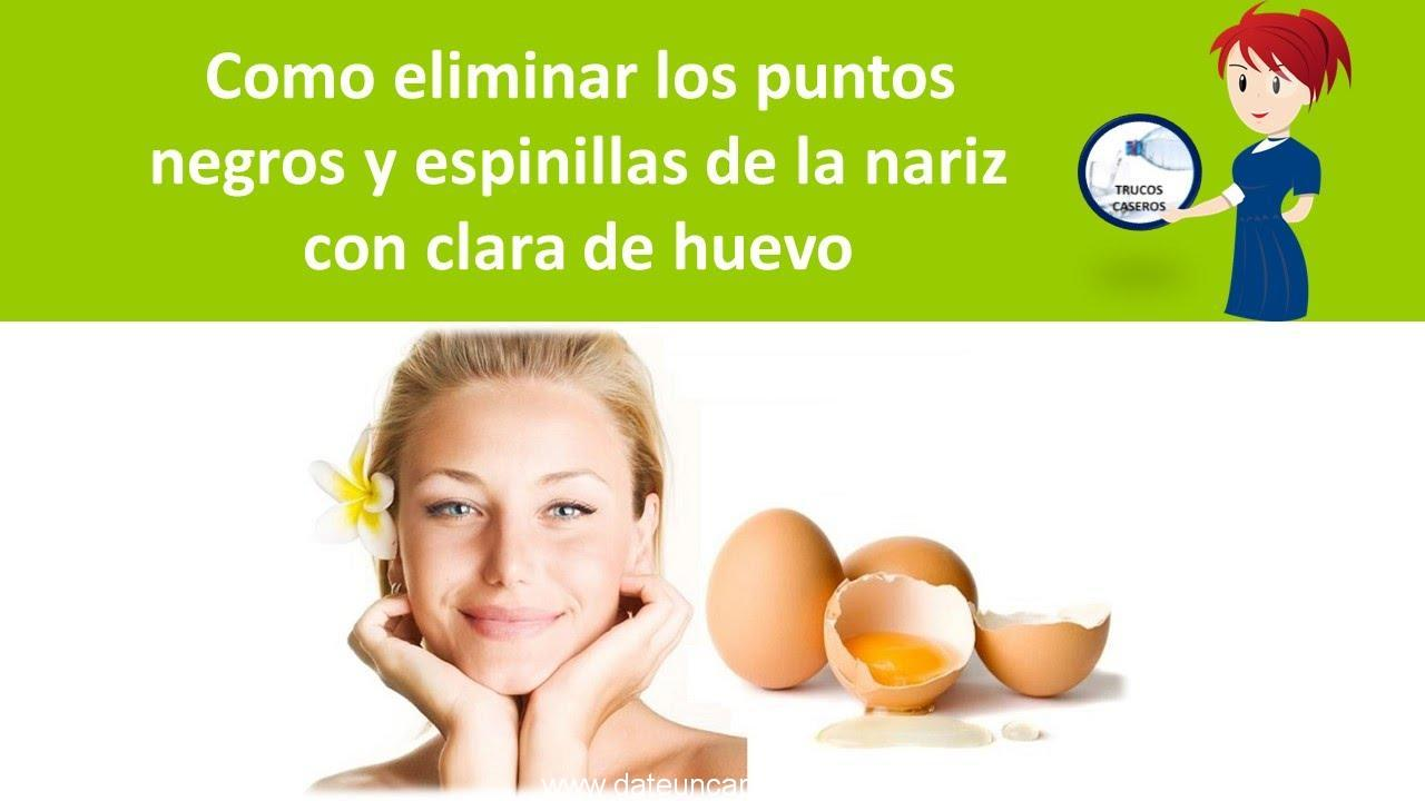Photo of Como eliminar los puntos negros y espinillas de la nariz con clara de huevo