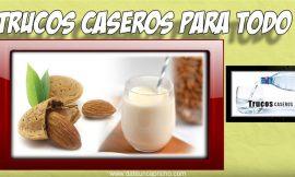 Como hacer leche de almendras caseras – Remedios caseros naturales
