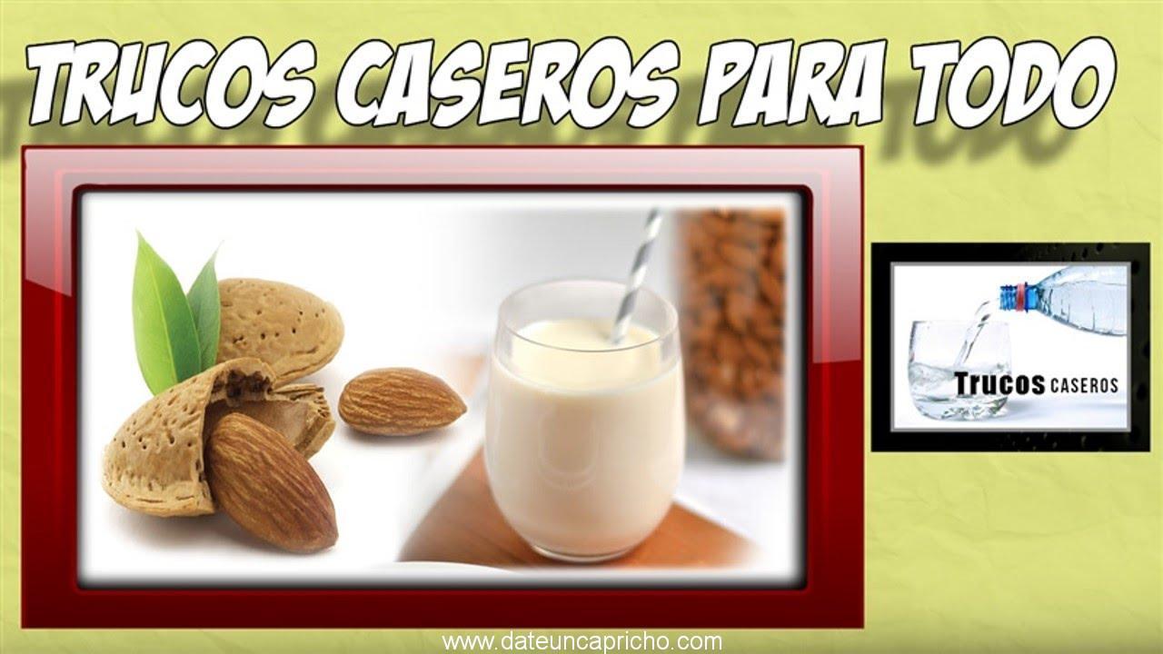 Photo of Como hacer leche de almendras caseras – Remedios caseros naturales