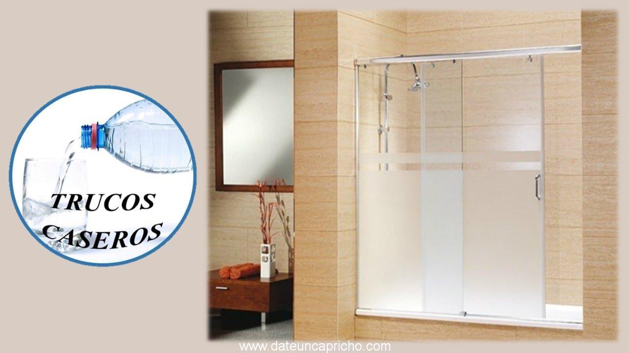 C mo limpiar la pantalla de cristal del ba o con productos - Productos para limpiar el bano ...