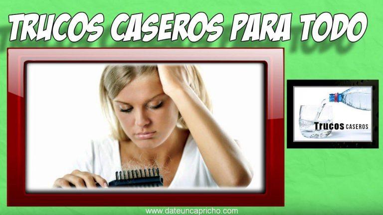 Como tratar la caida del cabello por estres – Remedios caseros para la perdida del cabello