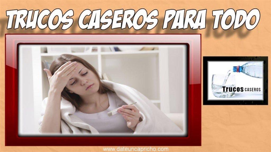 remedios caseros para bajar la fiebre en adultos