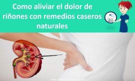 Remedios caseros para el buen funcionamiento de los riñones – Como tratar el dolor de riñones