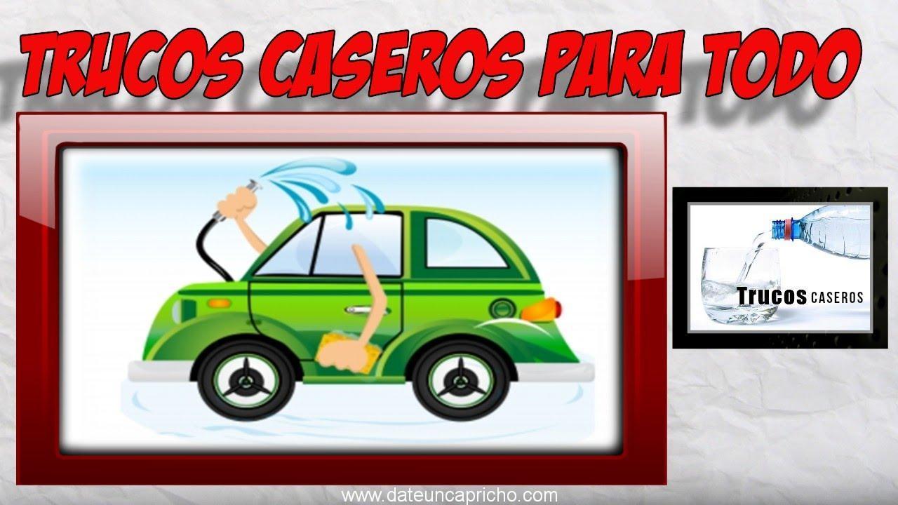 trucos caseros para limpiar el coche consejos de limpieza