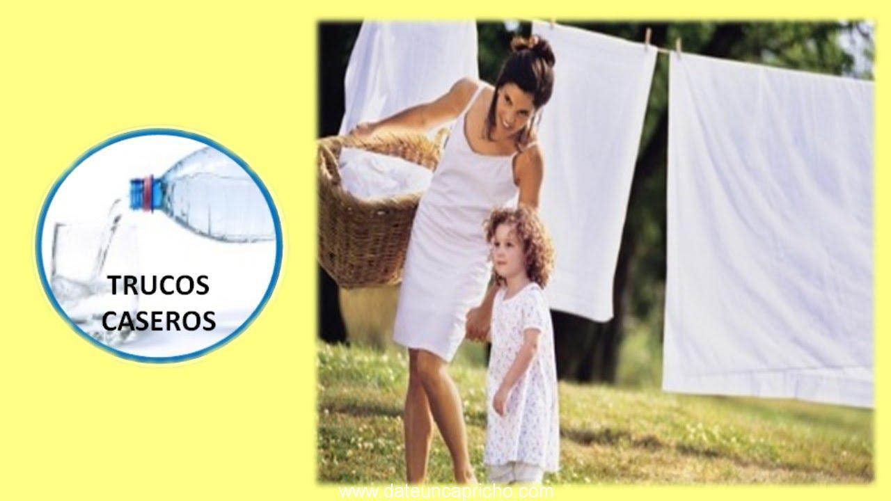 trucos para blanquear la ropa blanca productos naturales para tu ropa