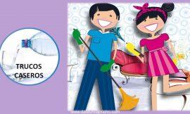 10 Trucos caseros para la limpieza del hogar – Problemas comunes y soluciones.