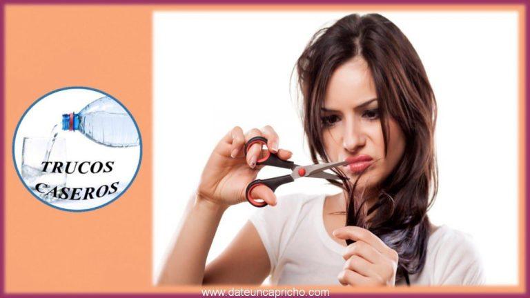 Como eliminar las puntas abiertas del cabello sin cortarlo – Consejos de belleza