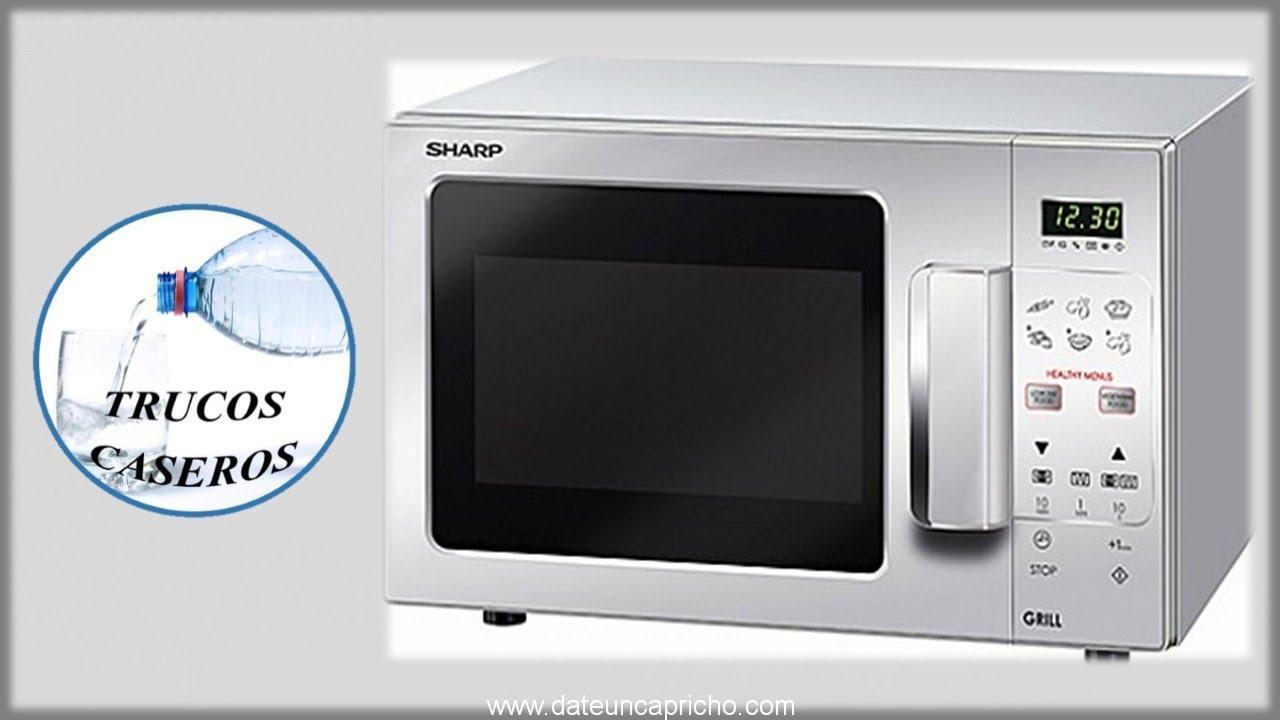 Como limpiar un horno microondas de forma facil – Limpiar microondas vinagre