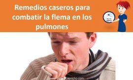 Remedios caseros para combatir la flema en los pulmones – Como tratar la flema naturalmente