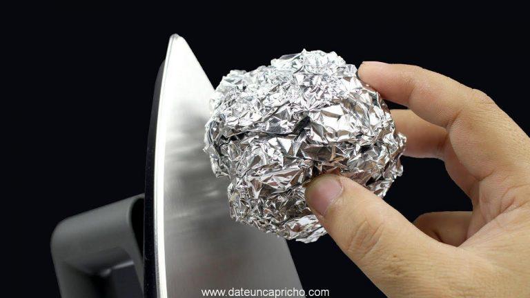 5 Trucos con papel de aluminio