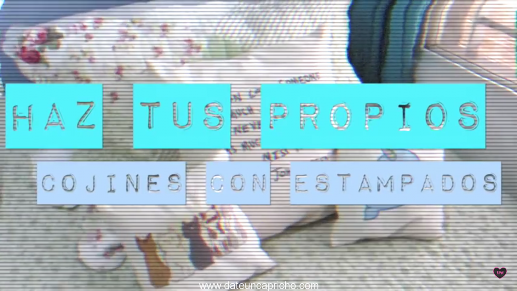 tutoriales como hacer que el almohadas personalizadas
