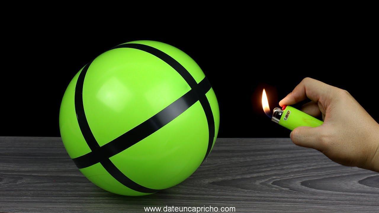 5 Trucos que puedes hacer con globos