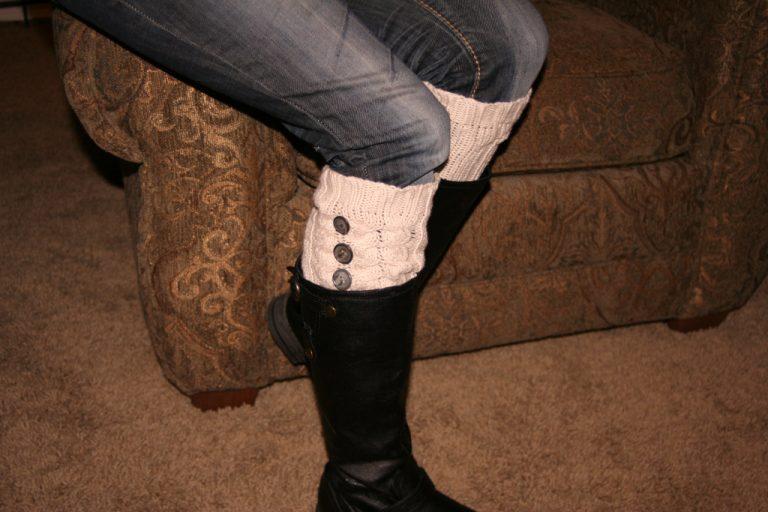 Calentadores de pierna suéter